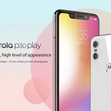 $127 with coupon for Lenovo Moto P30 Play 4G Smartphone 4GB RAM 64GB ROM International Version from GEARVITA