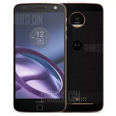$169 with coupon for Lenovo Moto Z(XT1650-05) 4G Phablet  –  BLACK from GearBest
