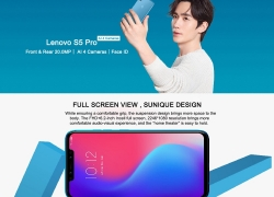 $168 with coupon for Lenovo S5 Pro 4G Smartphone 6GB RAM 64GB ROM Global Version from GEARVITA