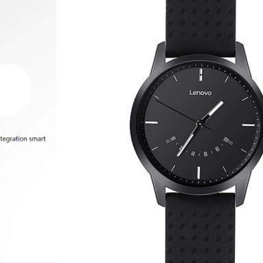 $19 with coupon for Lenovo Watch 9 Wristband – WHITE  from GearBest