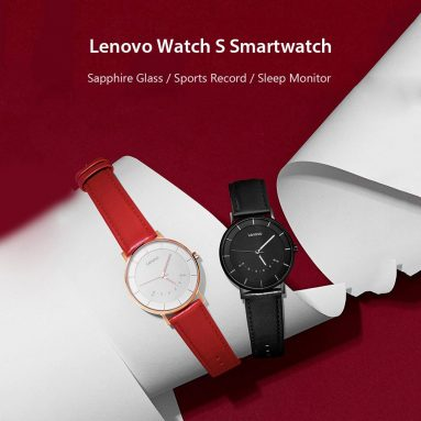 €30 with coupon for Lenovo Watch S Smartwatch from GEARVITA