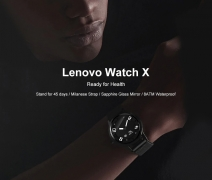 $63 with coupon for Lenovo Watch X Bluetooth Waterproof Smartwatch from GEARBEST