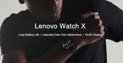 €32 with coupon for Lenovo Watch X Bluetooth Waterproof Smartwatch from GEARVITA