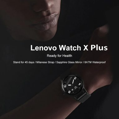 $59 with coupon for Lenovo Watch X Plus from TOMTOP