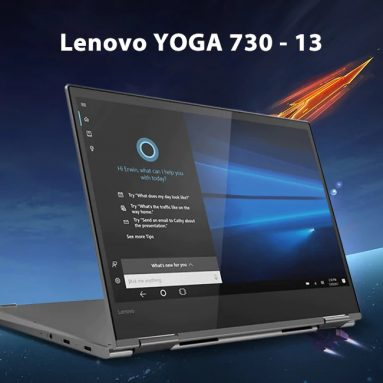 $719 with coupon for Lenovo YOGA 730 – 13 13.3 inch Laptop from GEARBEST