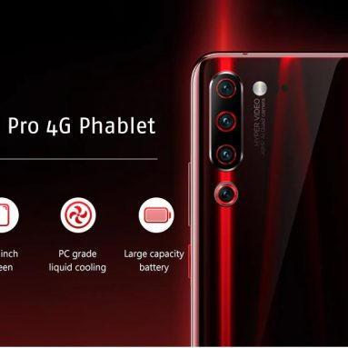 439 avec coupon pour Lenovo Z6 Pro 4G RAM Mémoire 6GB Phablet 128GB Global Version - Noir de GEARBEST