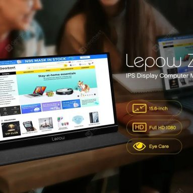 $169 with coupon for Lepow Z1 15.6-inch Computer Monitor from GEARBEST