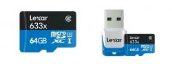$ 13 con cupón para la tarjeta de memoria Lexar 633X Micro SDHC - MULTI-A 64GB de GearBest