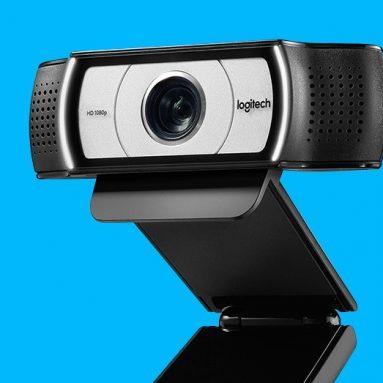 66 دولارًا مع قسيمة لـ Logitech C930c / C930e 1080P HD Video Webcam 90-degree Extended View Microsoft Lync 2013 and Skype Certified from GEEKBUYING