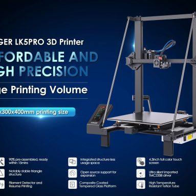 272 € s kuponom za LONGER LK5 Pro 90% predmontirani 3D printer iz EU DE skladišta GEARBEST