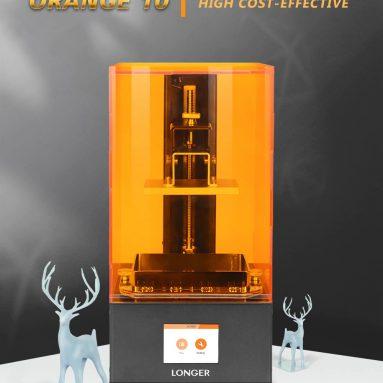 $ 199 με κουπόνι για το Longer Orange10 LCD 3D Εκτυπωτής ρητίνης μίνι SLA 3d εκτυπωτής Συναρμολογημένος με UV ακτινοβόλησης LCD Εκτυπωτής - Orange10 EU ή US plug US από GEARBEST