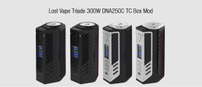 $123 with coupon for Lost Vape Triade 300W DNA250C TC Box Mod – MIDNIGHT BLACK from GearBest