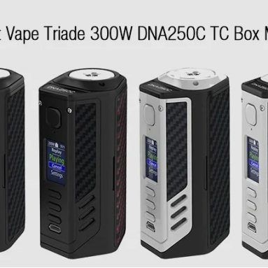 $125 with coupon for Lost Vape Triade 300W DNA250C TC Box Mod – EU warehouse from GearBest