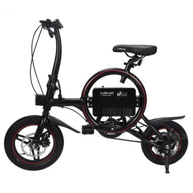 $ 399 s kuponem pro Lutewei O2 E-bike Elektrofahrrad 36V 6.6Ah E-Scooter 25km / h od GearBest