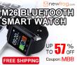 Newfrog.com से XXX% बंद M26 ब्लूटूथ स्मार्ट वॉच-अप