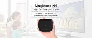 $23 with coupon for MAGICSEE N4 TV Box Support 4K H.265 – BLACK 2GB + 16GB ( EU ) from GearBest