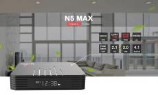 $ 46 कूपन के साथ MAGICSEE N5 मैक्स टीवी बॉक्स - ब्लैक 4GB RAM + 64GB ROM EU प्लग इन