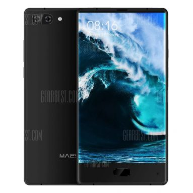 $185 with coupon for MAZE Alpha 6GB RAM 4G Phablet  –  BLACK from GearBest
