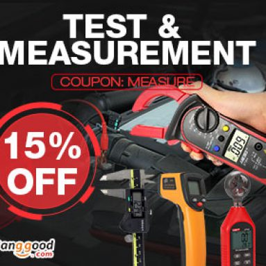 15% OFF for ALL Measurement Tools from BANGGOOD TECHNOLOGY CO., LIMITED