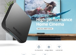 €52 with coupon for MECOOL KM9 Android 9.0 TV Box – Black 4GB RAM+64GB ROM EU Plug from GEARBEST