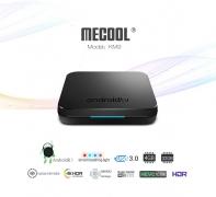 € 43 med kupong för MECOOL KM9 Android TV OS TV-box med Voice Remote - SVART EU PLUG från GearBest