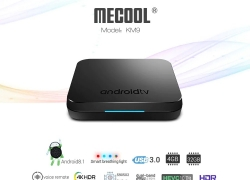 €47 with coupon for MECOOL KM9 Android TV OS TV Box with Voice Remote – BLACK EU PLUG from GearBest
