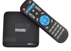 $35 with coupon for MECOOL M8S Pro+ TV Box Amlogic S905X Android 7.1  –  EU PLUG + 2GB RAM + 16GB ROM  BLACK from GearBest