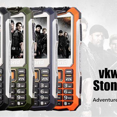 Yalnızca 21.49 $ 'lık İndirim - Focalprice'den VKWORLD Stone V3S Rugged Phone