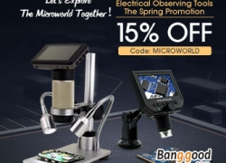15% OFF for Electrical Observing Tools Promotion from BANGGOOD TECHNOLOGY CO., LIMITED