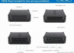 € 341 s kupónom pre MINIX NEO J50C - 4 Mini PC - BLACK od GearBest