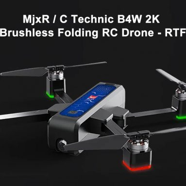 € 168 với phiếu giảm giá cho MJX B4W 2K Brushless RC Drone - RTF - Ba lô pin Cobalt Blue Double từ GEARBEST