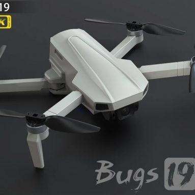 €131 with coupon for MJX Bugs 19 B19 5G wifi GPS 4K Camera Drone with Folding UAV Brushless Motor Around Mode Trajectory/Fixed Point Flight With Storage Bag from TOMTOP