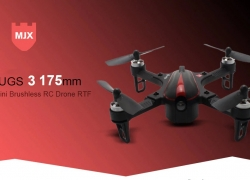 $65 with coupon for MJX Bugs 3 ( B3 ) 175mm Mini Brushless FPV RC Drone RTF 720P Camera – BLACK WITH C5810 720P CAMERA from Gearbest