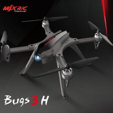 """116 € עם קופון ל- MJX Bugs 5W 5G Wifi FPV RC מזל""""ט Quadcopter גריי מאיחוד האירופי Ger Warehouse TOMTOP"""