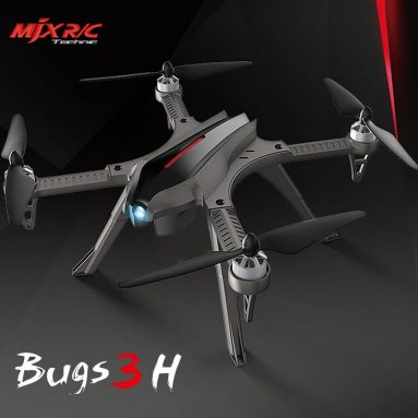 € 116 với phiếu giảm giá cho MJX Bugs 5W 5G Wifi FPV RC Drone Quadcopter Grey từ EU Ger Warehouse TOMTOP
