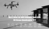 €68 with coupon for MJXR / C Technic X104G WiFi 5G Altitude Hold GPS RC Drone Quadcopter RTF – Black from GEARBEST