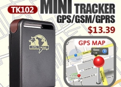 40% OFF for Motorcycle Motor TK102 Mini GPS/GSM/GPRS Personal Pet Spy Real Time Tracker from BANGGOOD TECHNOLOGY CO., LIMITED