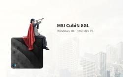 € 152 con cupón para MSI CubiN 8GL Windows 10 Home Mini PC Barebone de GEARBEST