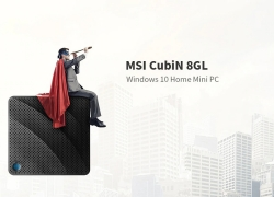 € 152 avec coupon pour MSI CubiN 8GL Windows 10 Home Mini PC Barebone de GEARBEST