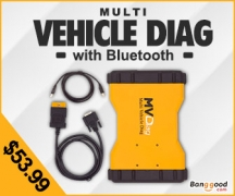 10% OFF for Multi Vehicle Diag Bluetooth 2014.R2 Only 200 PCS Left ! from HongKong BangGood network Ltd.