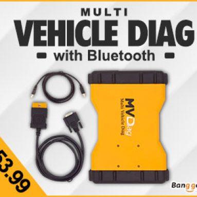10% OFF för Multi Vehicle Diag Bluetooth 2014.R2 Endast 200 PCS Vänster! från HongKong BangGood Network Ltd.