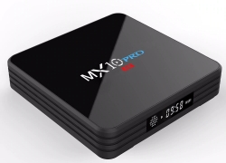 $35 with coupon for MX10 PRO Android TV Box 4GB RAM 32GB ROM from GEARVITA