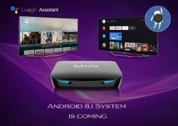 $ 59 z kuponem na MXX G12 Android 8.1 TV Box - CZARNY WTYK UE od GearBest