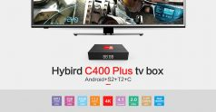 $68 with coupon for Magicsee C400 Plus Hybird S2 + T2 + C TV Box – BLACK EU PLUG from GearBest