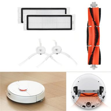 $6 with coupon for Main Brush Filters Side Brushes Accessories for XIAOMI MI Robot Vacuum from GearBest