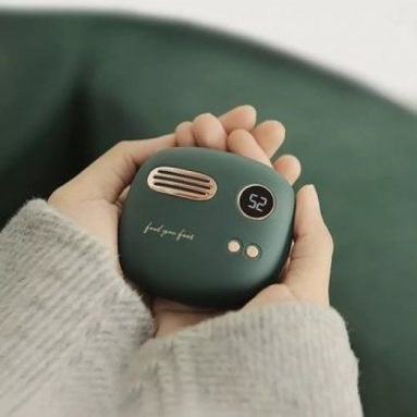 €21 with coupon for Maoxin 52°C Hand Warmer & 5000mah Mobile Power Bank From Xiaomi Youpin 5s Double-sided Fast Heating Winter Heater – Green from BANGGOOD