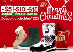 $5~$15 OFF for Boots from BANGGOOD TECHNOLOGY CO., LIMITED