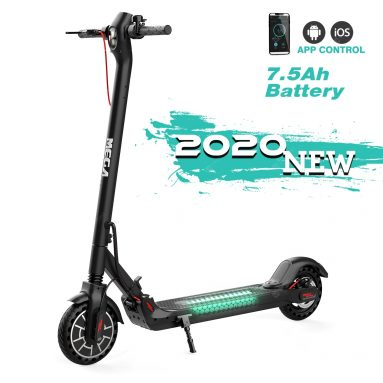 €348 with coupon for Mega Motion Electronic Scooter Long-Range Battery 300w Motor 25 km per hour max – Black Germany Warehouse from GEARBEST