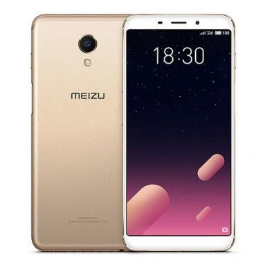 Meizu M6s 3GB+32GB Gold on sale! from Geekbuying INT