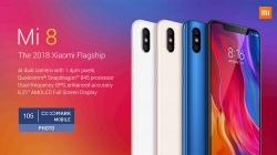 € 315 med kupong för Xiaomi Mi 8 4G Phablet 6GB RAM 64GB ROM Global Version - SVART EU-lager från GearBest